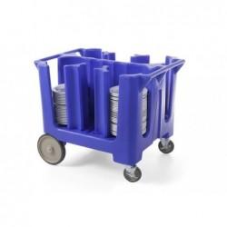 Wózek do transportu talerzy