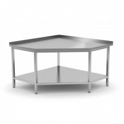 Stół przyścienny narożny z...