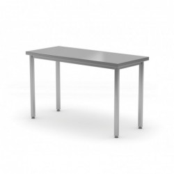 Stół centralny bez półki