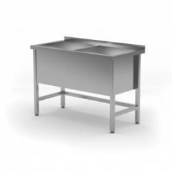 Stół z basenem dwukomorowym...