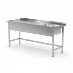 Stół ze zlewem wzmocniony...