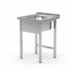 Stół ze zlewem bez półki