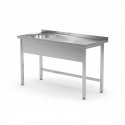 Stół ze zlewem bez półki -...
