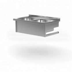 Stół wiszący z dwoma zlewami