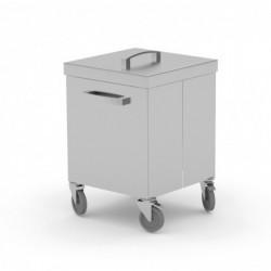Pojemnik jezdny na odpadki