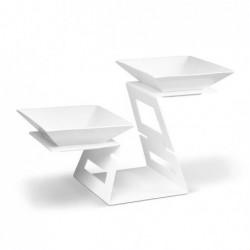 Stojak Swan biały