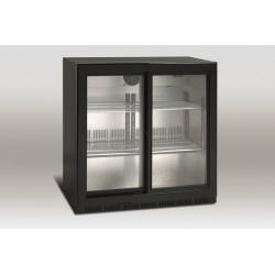 Barowa szafa chłodnicza | chłodziarka podblatowa | SC209SL | 207l drzwi przesuwne