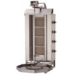 Gyros | opiekacz gazowy do kebaba | 4 palniki | wsad 60kg KLG221