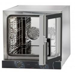 Piec konwekcyjny manualny-otwieranie boczne M04NE595DX | 4x450x325 lub 4x435x350 | 3,15kW