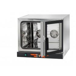 Piec konwekcyjny elektroniczny-otwieranie boczne D03NEPSDX | 3x600x400 | 3,15kW