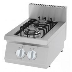 Kuchnia gazowa KGO-4060 I 7,2 kW I 2 - palnikowa