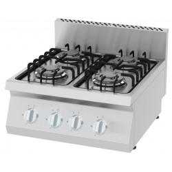 Kuchnia gazowa KGO-6060 I 14,4 kW I 4 - palnikowa