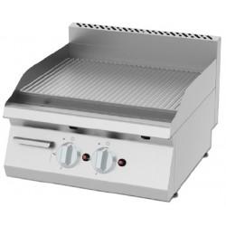 Płyta grillowa gazowa, ryflowana  KGOI-6060 | 8 kW