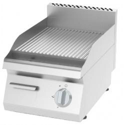 Płyta grillowa elektryczna, ryflowana KEOI-4060 | 3,6 kW