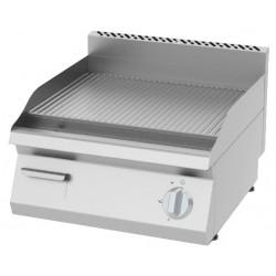 Płyta grillowa elektryczna, ryflowana KEOI-6060 | 4,8 kW