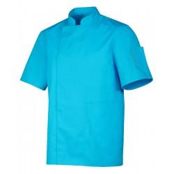 Nero - bluza z krótkim rękawem, turkusowa, roz. XL