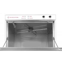 Zmywarka do szkła 40x40 - sterowanie elektromechaniczne z dozownikiem detergentu