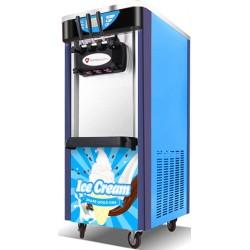 Maszyna do lodów włoskich | automat do lodów soft | nocne chłodzenie | 2 smaki + mix | 2x5,8l