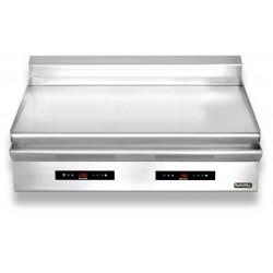 Płyta grillowa elektryczna | nastawna | podwójna | gładka | Zernike | GE1270L2C