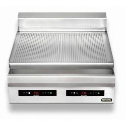 Płyta grillowa elektryczna | nastawna | podwójna | ryflowana | Zernike | GE8090T2C