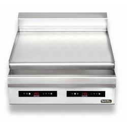 Płyta grillowa elektryczna | nastawna | podwójna | gładka | Zernike | GE8090L2C