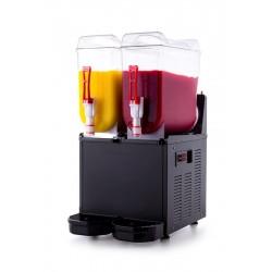 Granitor   Urządzenie do napojów lodowych slush shake 2x12l   SLUSH24.B