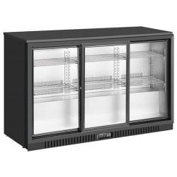 Barowa szafa chłodnicza | chłodziarka podblatowa | drzwi przesuwne | 308 l | SC311SLE (RQ-330SC)