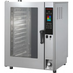 Piec konwekcyjno-parowy  elektryczny | elektroniczny panel sterowania | 11xGN1/1 | Inoxtrend CDT-111E