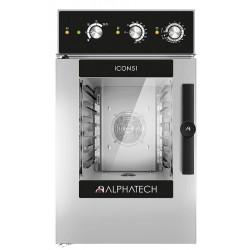 Piec konwekcyjno-parowy ICCM026E | 6x GN 2/3 | ICON51 Alphatech by Lainox  | sterowanie manualne