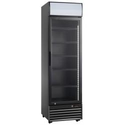 Szafa chłodnicza przeszklona RQ416-BLACK | 338l | czarna (SD416)