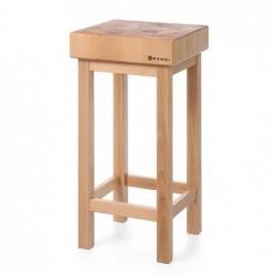 Kloc masarski drewniany na...